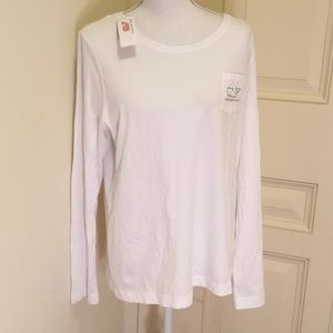 Vineyard Vines Long Sleeved Holiday T Shirt